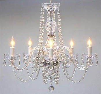 """Empress Crystal (tm) Chandelier Chandeliers Lighting H25"""" x W24"""""""