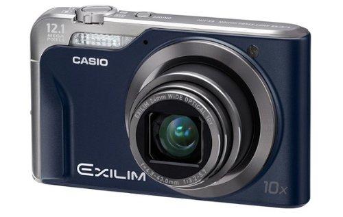 CASIO デジタルカメラ EXILIM EX-H10 ブルー EX-H10BE
