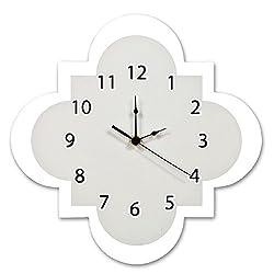 Product of Trend Lab Wall Clock, Gray Quatrefoil - Clocks [Bulk Savings]