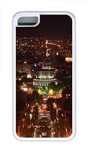 Armenia Yerevan At Night Custom iPhone 5C Case Cover TPU White wangjiang maoyi