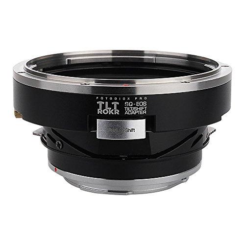 Fotodiox Pro TLT ROKR - Tilt/Shift Lens Mount Adapter Bronica SQ Mount Lenses to Canon EOS (EF, EF-S) Mount SLR Camera Body