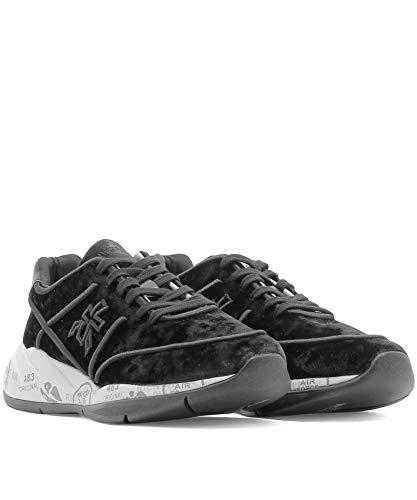 Liu3494 Terciopelo Negro Premiata Zapatillas Mujer q55Tnzwp