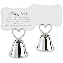 Kate Aspen (set of 24) Kissing Bells Place Card Holders
