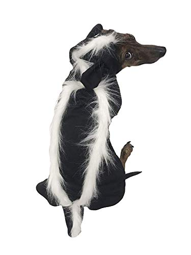 Midlee Skunk Costume for Small Dogs (Small)