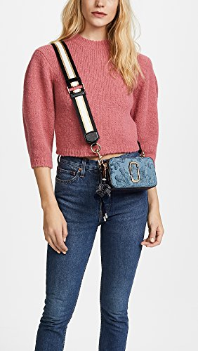 Blue Bag Cross Damask Marc Jacobs Women's Snapshot Body nwaqFPqC