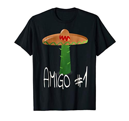 Amigo #1 Funny Group Halloween Costume Idea Adults or Kids -