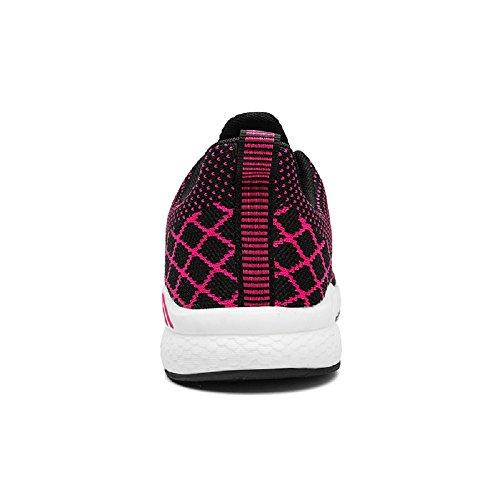 Running Rojo 48 de Correr Azul Hombre Zapatillas Unisex 36 Exterior en Negro Sneakers Mujer Deportes Asfalto Morado O1w0TOxq