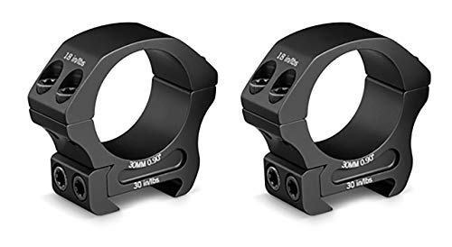 Vortex Optics Pro Series Riflescope Rings - 30mm - Low Height [0.90 Inches | 22.86 mm] ()