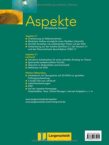 Aspekte: Lehrbuch 3 MIT DVD (German Edition): 9783126060202: Amazon ...