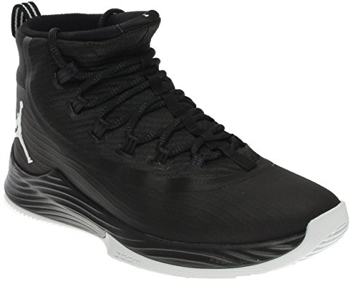 Black Jordan Shoes (Nike Men's JR Ultra Fly Basketball Shoe Black/Anthracite/White 9.5)