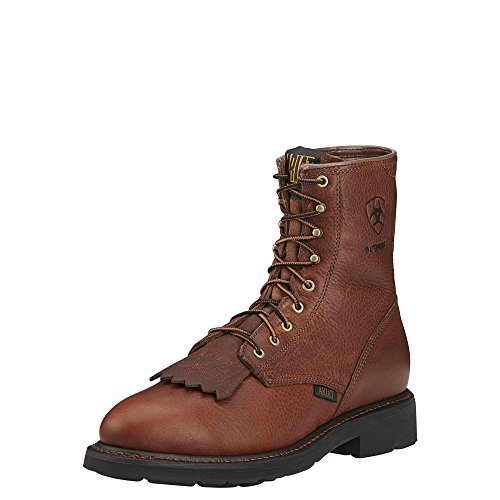 Ariat Men's Cascade 8 Steel Toe H20 Lace-Up Boot