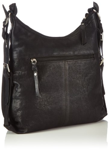 Bruno Banani Shoulder Bag - Bolso de hombro Mujer Schwarz/ Schwarz