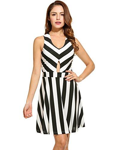 cross back black dress - 8
