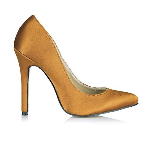 High Interesantes Salvaje Primavera Negro Puntos Vida Clic Wire Nueva Emulation Rojo Fine Nocturna Zapatillas Zapatos heel Haga Orange Egx4Pq4C