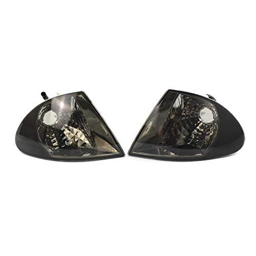 (Turn Signal Indicator Corner Lights 1 Pair Clear Lens for 3 Series E46 Sedan)