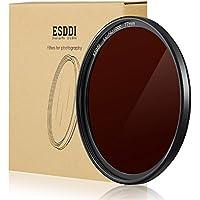 ESDDI 77mm ND 1000 Filter Photo Neutral Density Filter MC ND 10 Stop Filter with Dark Black Aluminum Frame SCHOTT B270 Optical Glass