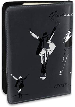 マイケル ジャクソン Michael Jackson パスポートケース メンズ 男女兼用 パスポートカバー パスポート用カバー パスポートバッグ ポーチ 6.5インチ高級PUレザー 三つのカードケース 家族 国内海外旅行用品 多機能