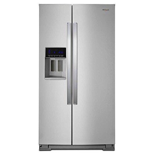 Whirlpool WRS588FIHZ 28 Cu. Ft. Stainless Steel Side-by-Side Refrigerator WRS588FIHZ