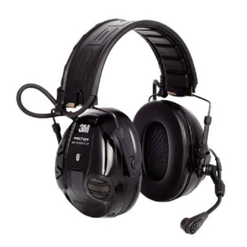 3. 3M Peltor WS 100 Communications Headset, 20 dB Noise Reduction (Black)