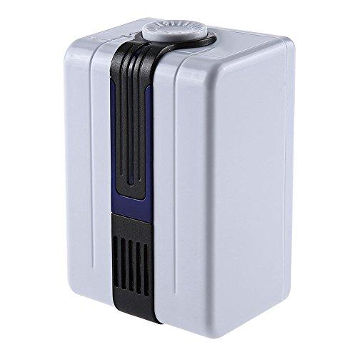 Robolife BYK - JY68 Ionic Air Purifier Negative Ion Generator Remove Formaldehyde Smoke Dust for Bedroom Bathroom US Plug-Blue by Robolife