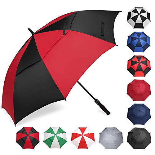 BAGAIL Golf Umbrella 68/62/58 Inch Large Oversize Double Canopy Vented