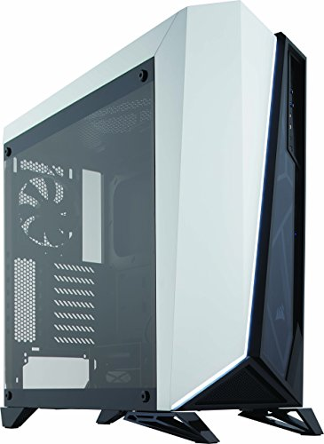 Corsair Carbide Series SPEC-OMEGA Mid-Tower Tempered Glass Gaming Case Black/White (CC-9011119-WW)