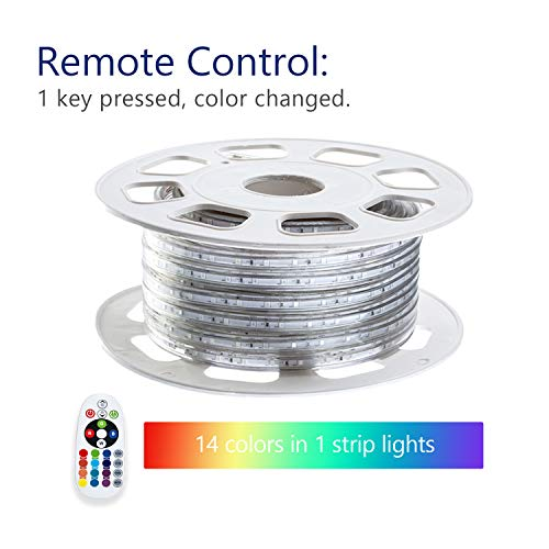 Outdoor Led Strip Lights 120V in US - 7