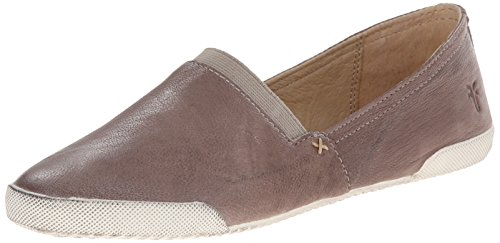 Frye Women's Melanie Slip-On, Grey Antique Soft Vintage Leather-71146, 6 M US ()