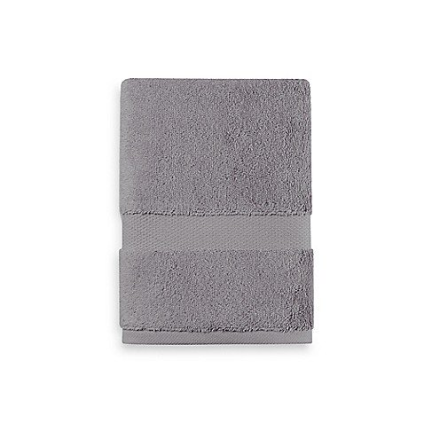 (Wamsutta 805 Turkish Cotton Hand Towel in Slate - (30