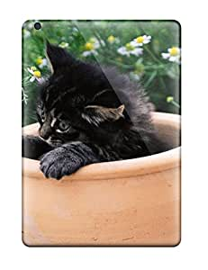 New Diy Design Kitten In A Pot For Ipad Air Cases Comfortable For Lovers And Friends For Christmas Gifts