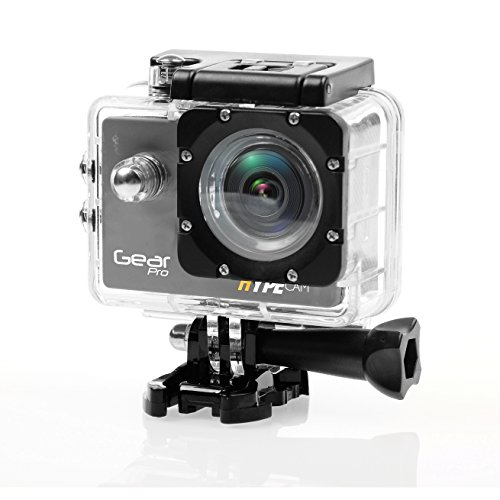 Gear Pro 4K 60fps Ultra HD Waterproof Sports Action Camera 1080P 16MP WiFi With Full Color 2.0'' LCD Display Panel