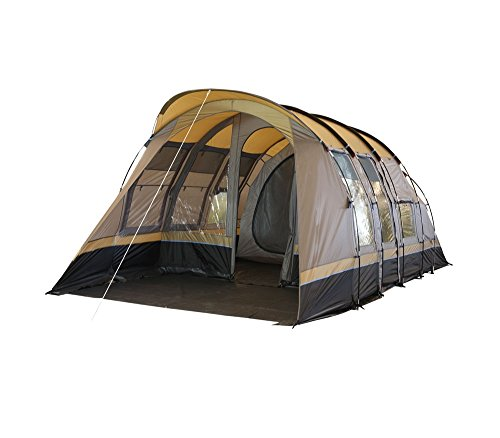 Hasika-8-10-Person-Tunnel-Tent-Family-Tent-  sc 1 st  C&ing Equipment u0026 Supply & Hasika 8-10 Person Tunnel Tent Family Tent 3000 mm water column ...