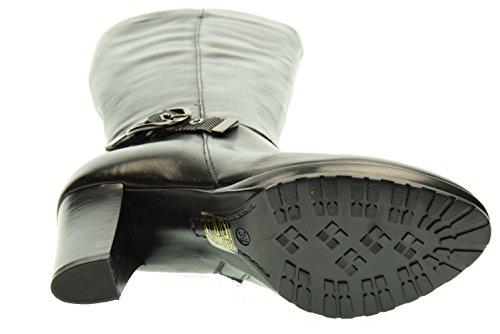 Fabbrica 304 Donne 7800 Tacco Alto Nero Stivali Delle Di 2 Col 39 Pacchetti vw0xFqvBr