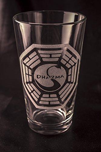 Lost Pint Glass - Dharma Swan Station ()