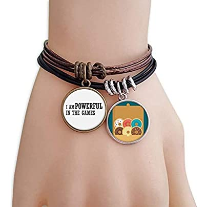 SeeParts Powerful The Games Bracelet Rope Doughnut Wristband Estimated Price £9.99 -