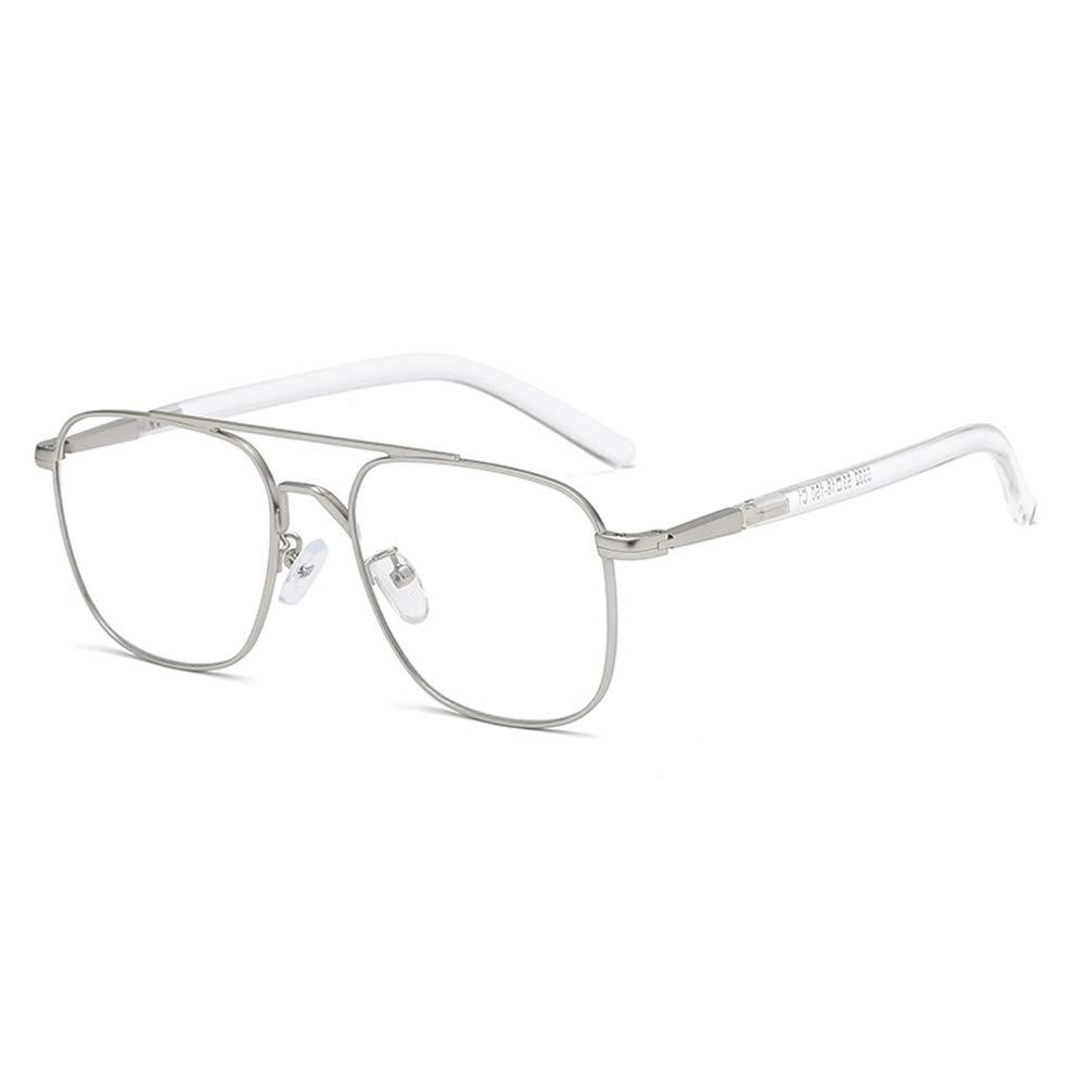 Brille Anti-Strahlung Anti-Blaulicht Vollformat Kein Grad Flachen Spiegelrahmen