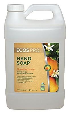 Liquid Hand Soap, Orange Blossom, 1 gal.