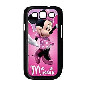 Samsung Galaxy S3 9300 Phone Case Covers Black Minnie Mouse WIN Phone Cover