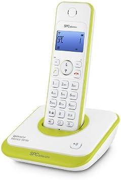 SPCtelecom 7243V - Teléfono inalámbrico, verde: Amazon.es: Electrónica