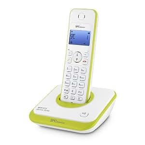 SPCtelecom 7243V - Teléfono inalámbrico, verde