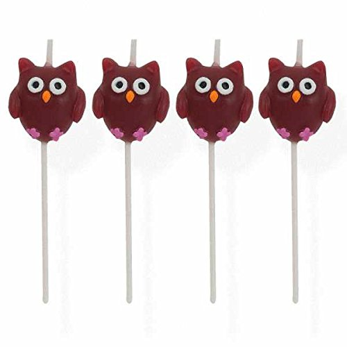 Owl Pick Candles