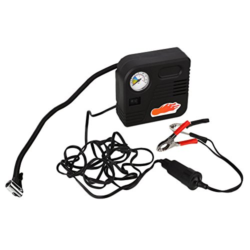 Sedeta 12v Portable Air Compressor Pump Tire Inflator Tire Gauge