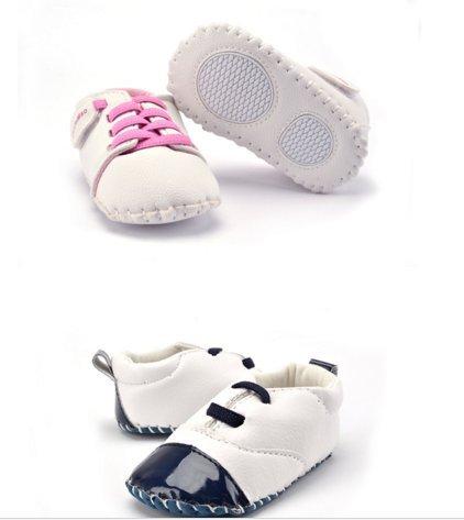 Ohmais Kinder Baby Jungen Baby Mädchen Baby Kleinkind Schuh weich Blau