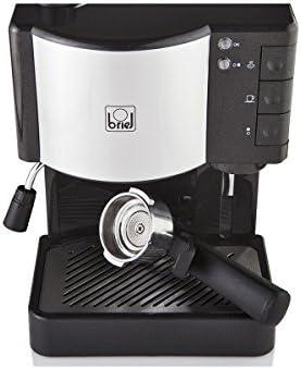 Briel ES35 Cafetera espresso, 1260 W, 1.8 litros, Plástico, Negro ...