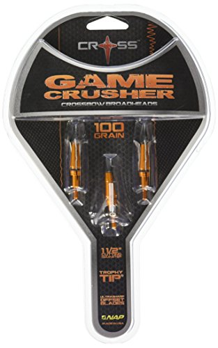 Barnett Cross Gamecrusher Broadheads 100 Grain 3 ()