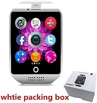 Luoka - Reloj Inteligente Bluetooth Q18 con cámara fotográfica ...