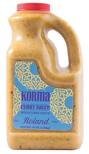 Roland Curry Sauce, Korma, 70 Ounce
