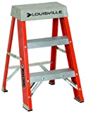 Louisville Ladder FS1502 300-Pound Duty Rating Fiberglass Ladder, 2-Feet