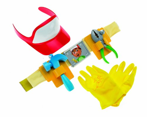 Handy Manny Tool Belt (Fisher Price Handy Manny On-The-Job Tool)
