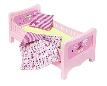 Zapf Creation 824399 Baby Born Bett Mit Kuschelbettzeug Bunt